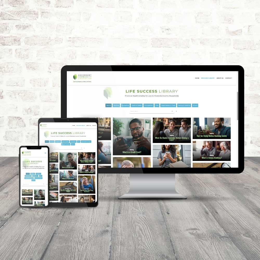 Ascendant Community Education Website