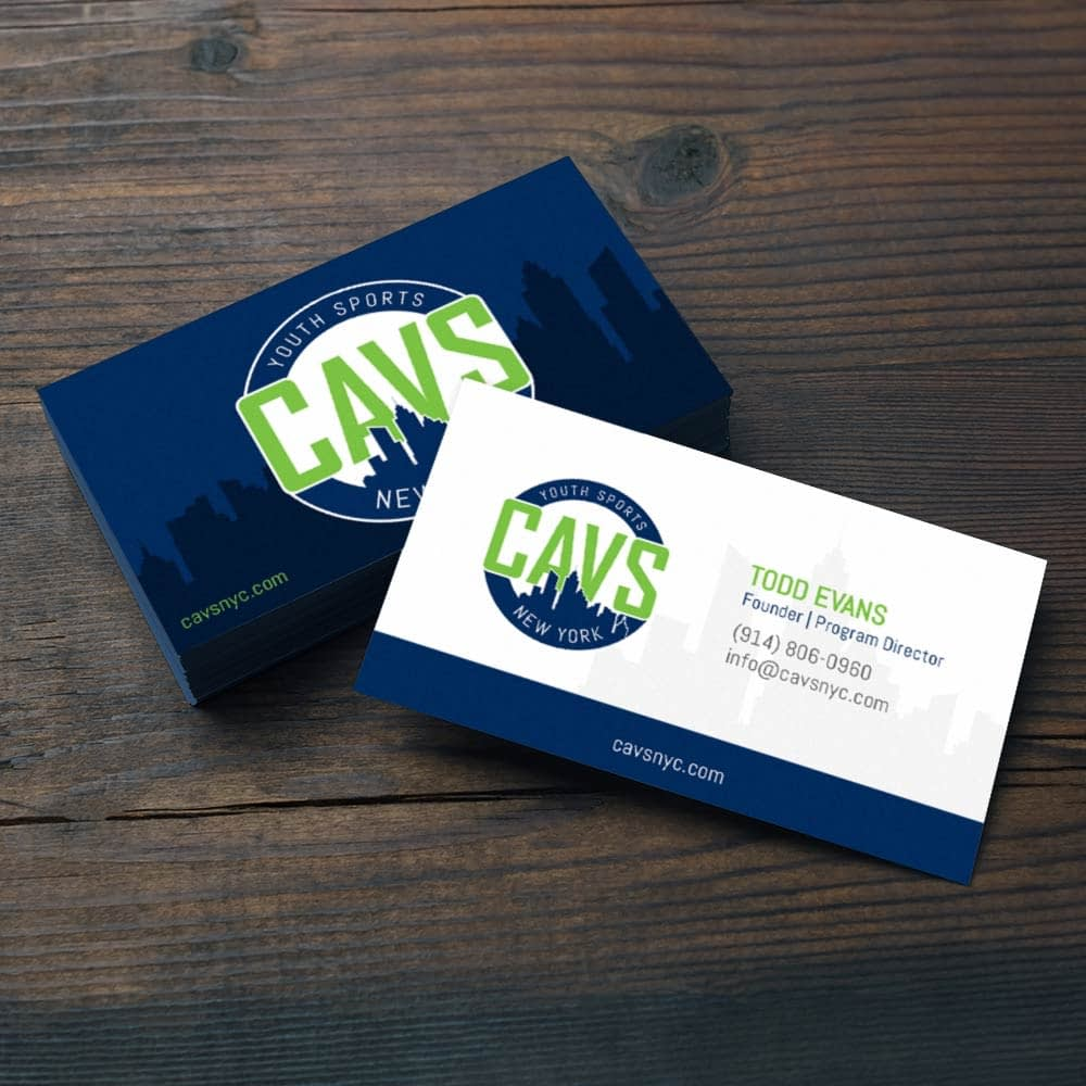 CAVS After School Sports Business Cards