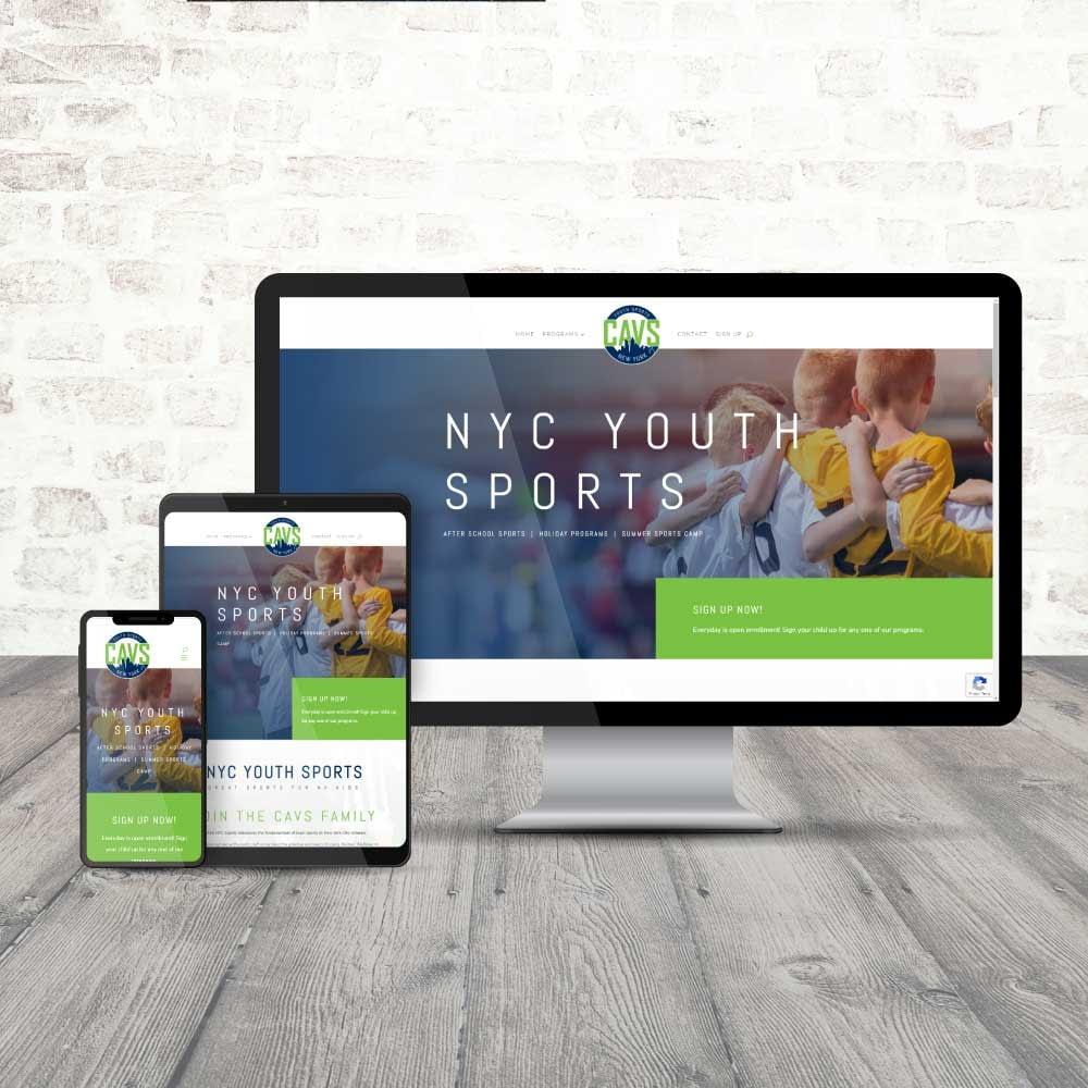 CAVS After School Sports Website