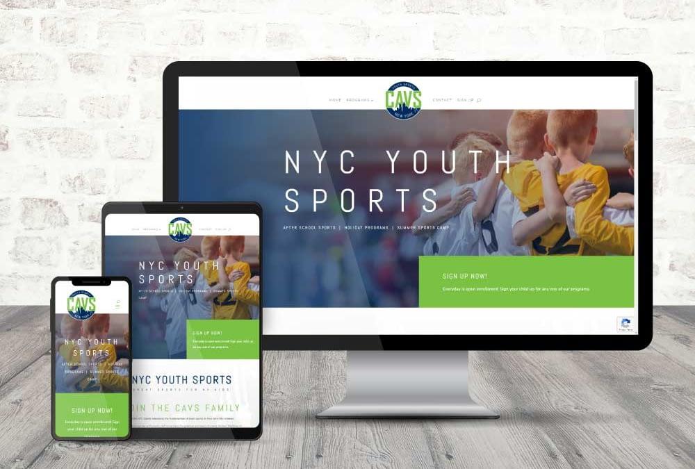 Youth Sports Branding & Website