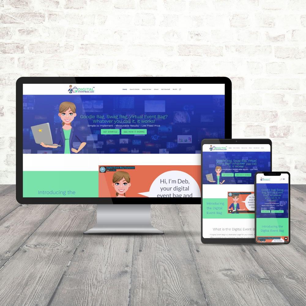 Digital Event Bag Website
