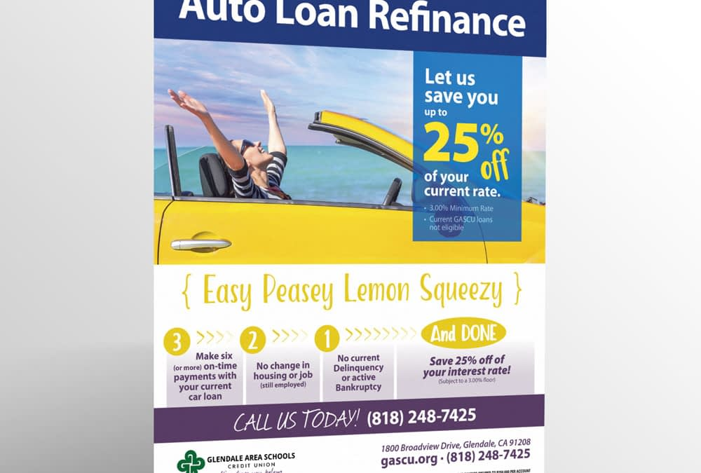 Auto Loan Refinance Ad