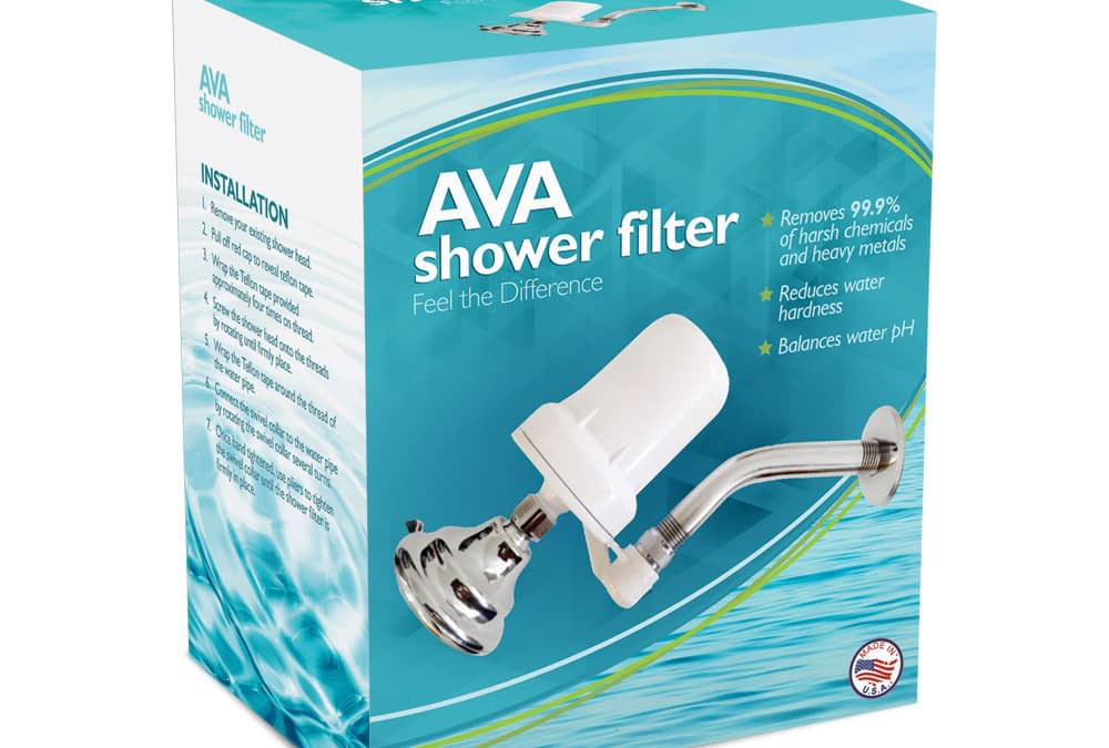 Shower Filter Package Design